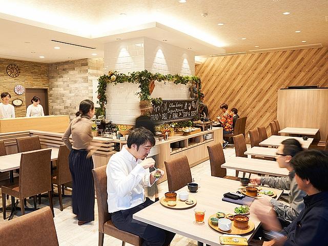 【蒲田】ホテルリリーフプレミアム羽田 レストラン