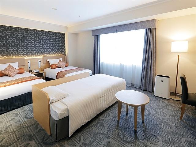 札幌エクセルホテル東急 スーペリアツイン(3~4名1室利用)
