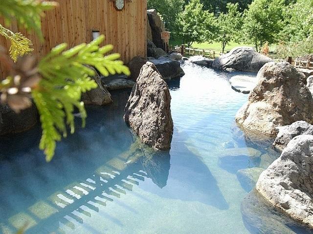 ホテル阿寒湖荘 露天風呂