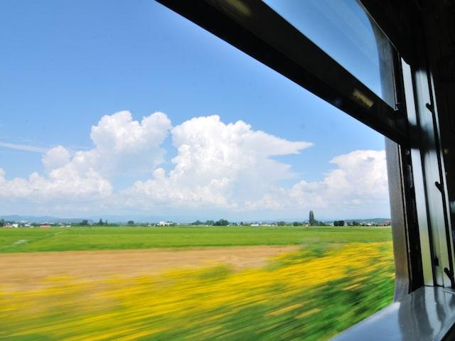 JRでのんびり車窓の旅もおすすめイメージ