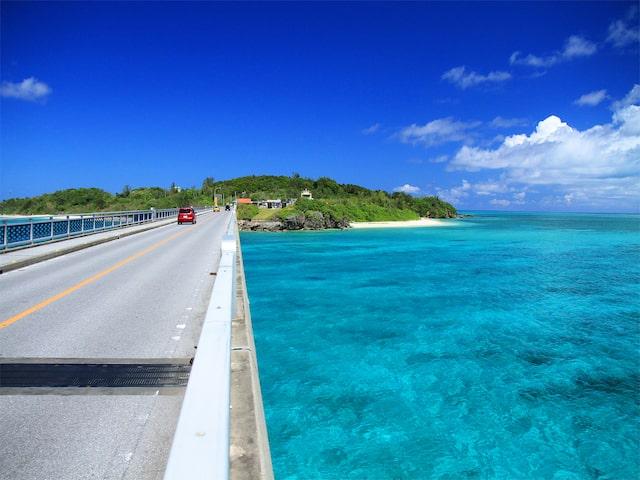 5つの島をドライブ観光で楽しめますイメージ
