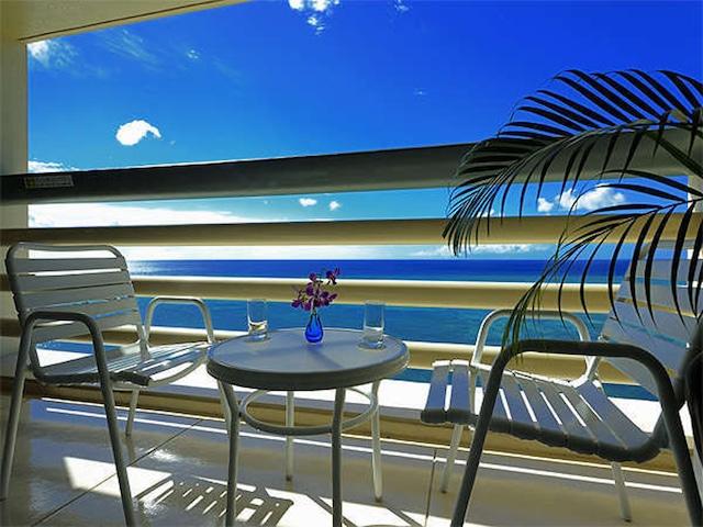 リザンシーパークホテル谷茶ベイ テラス