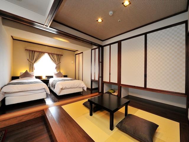 天然温泉 ホテルパコ函館 別亭和洋室