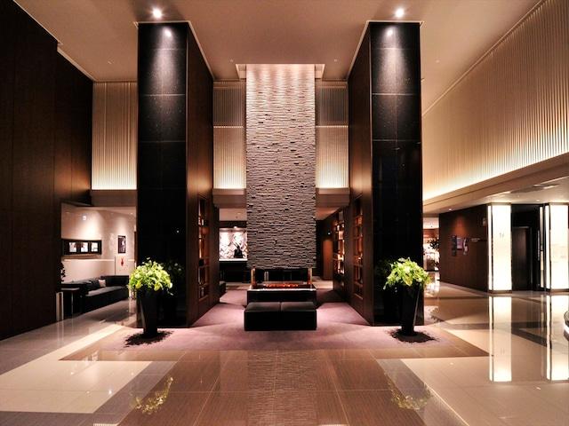 天然温泉 ホテルパコ函館 落ち着いたロビー