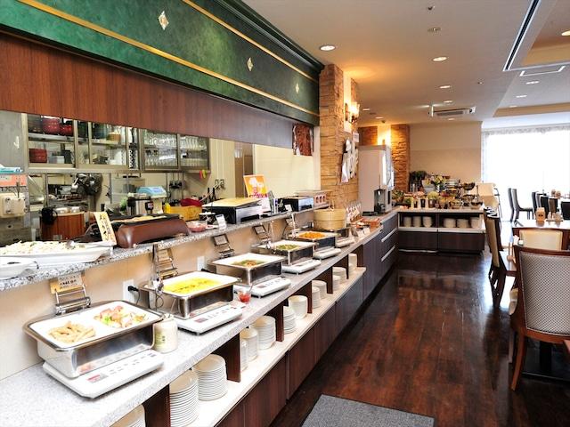 天然温泉 ホテルパコ函館 別邸 朝食会場「はら田」