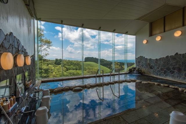 黒川温泉 瀬の本高原ホテル 大浴場