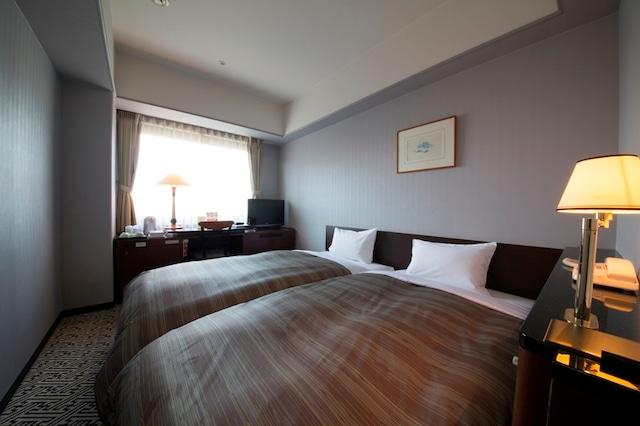 アークホテル熊本城前 ハリウッドツインルーム 18.4㎡