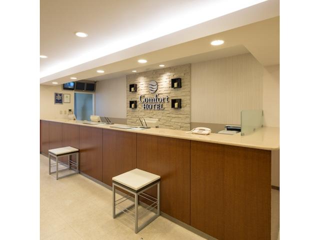 コンフォートホテル熊本新市街 フロント