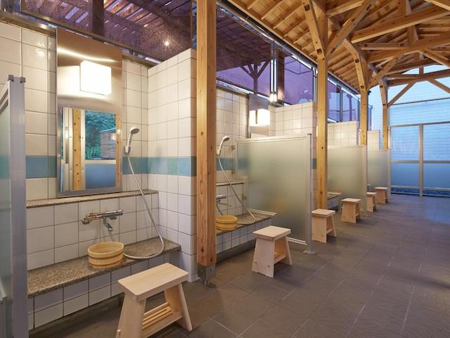 奥道後 壱湯の守 温泉 洗い場