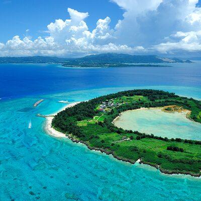 水納島(みんな島)日帰り海水浴付き沖縄格安ツアー2018イメージ