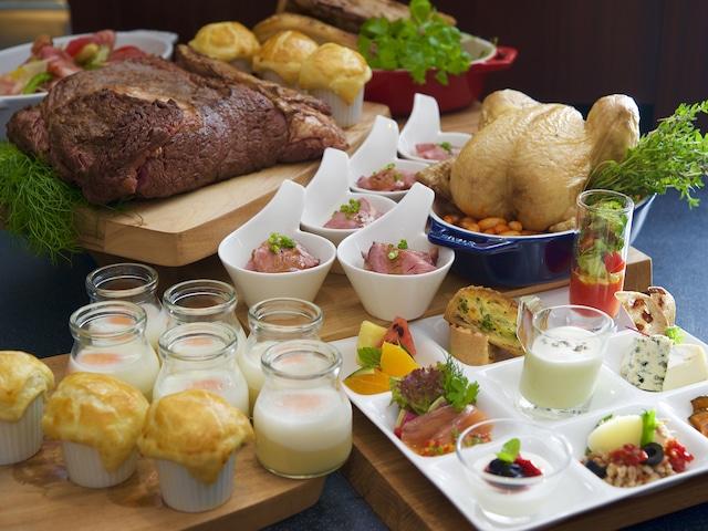 クインテッサホテル大阪ベイ(旧ラ・レゾン大阪)   80種類の朝食ブッフェ イメージ