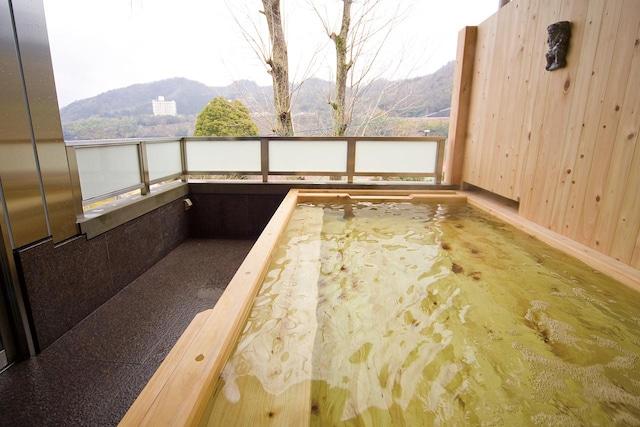 塩江温泉 ハイパーリゾート ヴィラ塩江 露天風呂