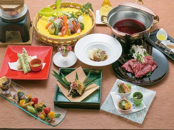 塩江温泉 ハイパーリゾート ヴィラ塩江 食事