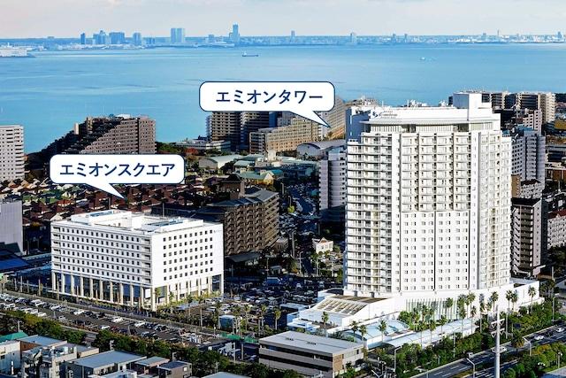 ホテルエミオン東京ベイ 外観(タワー館・スクエア館)