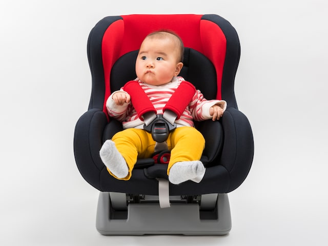 Of course car seat is rental for free, too ♪ Image