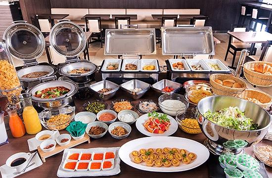 ホテルネッツ札幌 朝食一例