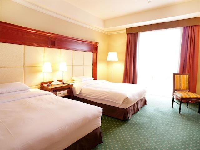 プレミアホテルーTSUBAKIー札幌 ツインルームB 36㎡ ベッド幅130㎝2台