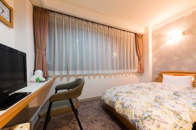 道後温泉 ホテルルナパーク 別邸 やすらぎ シングルルーム 12㎡