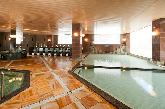 ホテルゆもと登別 男湯 大浴場