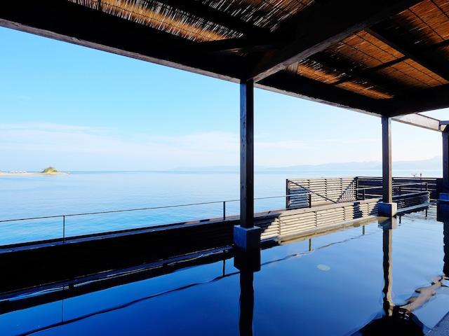 i+Land nagasaki(旧:やすらぎ伊王島) 島風の湯 展望露天風呂