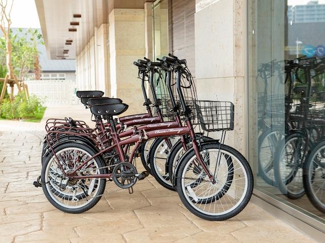 ラ・ジェント・ホテル 沖縄北谷 レンタルサイクル