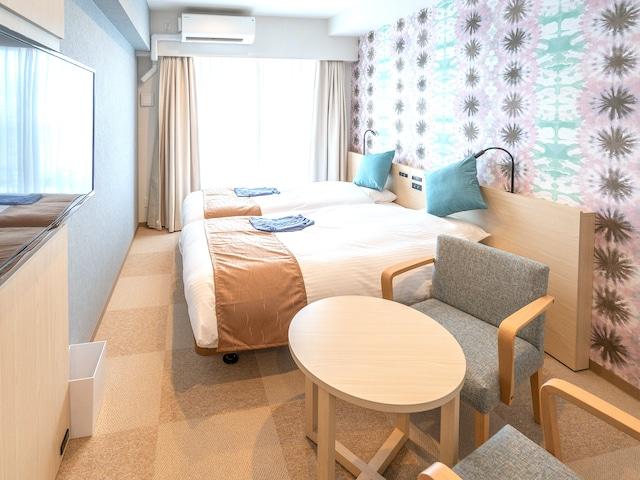 ラ・ジェント・ホテル 沖縄北谷 モデレートツイン