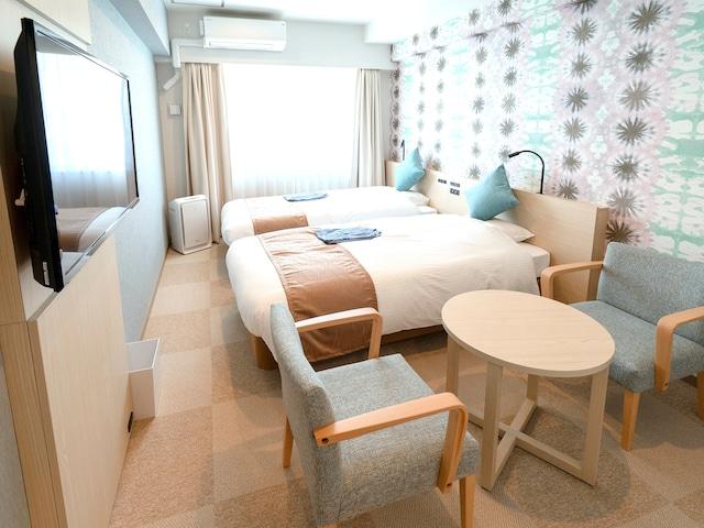 ラ・ジェント・ホテル 沖縄北谷 スタンダードツイン