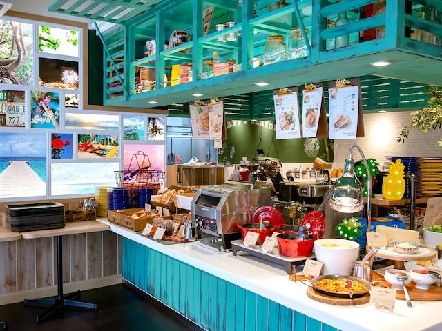 ラ・ジェント・ホテル 沖縄北谷 朝食一例