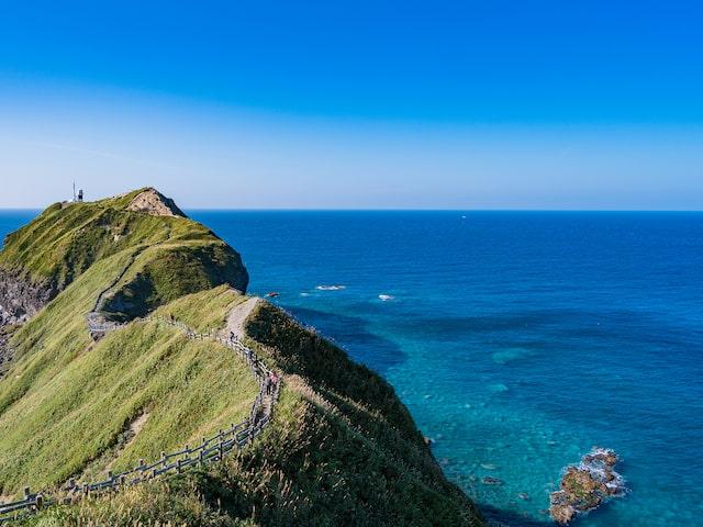 神威岬の積丹ブルーイメージ