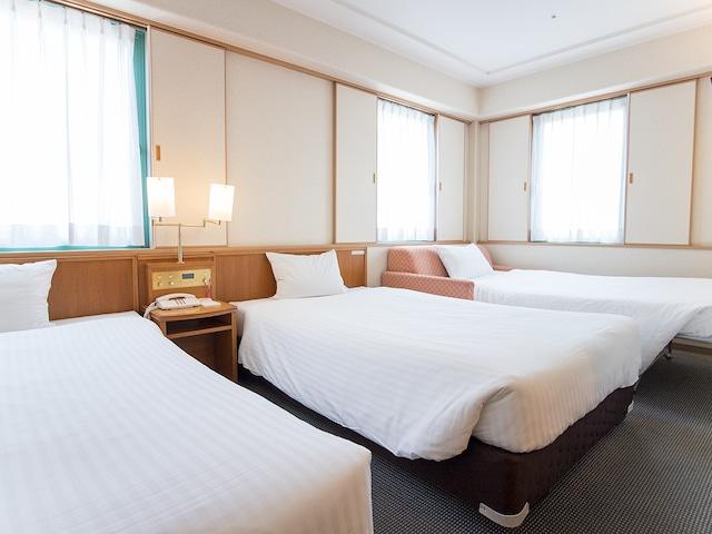 ホテルベルビュー長崎出島 ツインルーム(トリプル) 24.6㎡