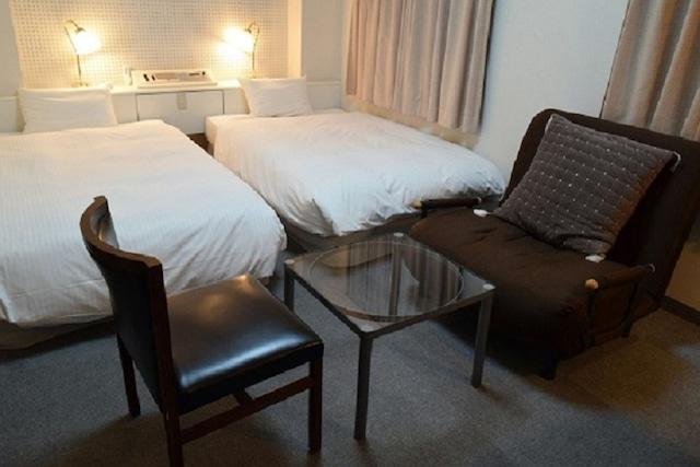 ホテルウィングインターナショナル都城 ツインルーム 25㎡