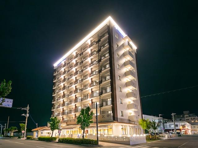 南の美ら花ホテルミヤヒラ 外観(美崎館 2018年6月オープン!)