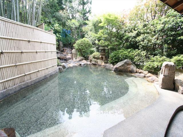 玉造温泉 旅亭 山の井 男性露天風呂
