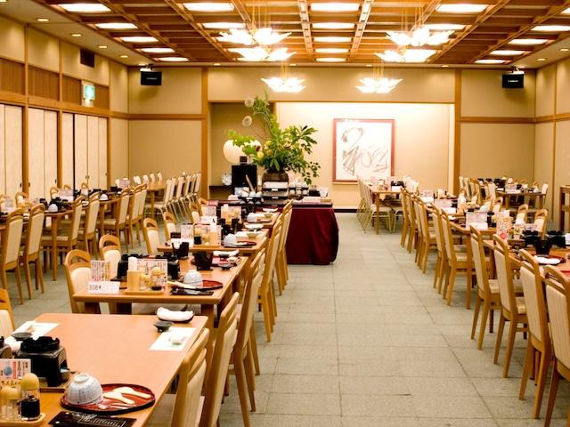 玉造温泉 旅亭 山の井 レストラン