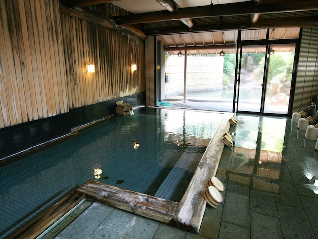 玉造温泉 旅亭 山の井 男性大浴場