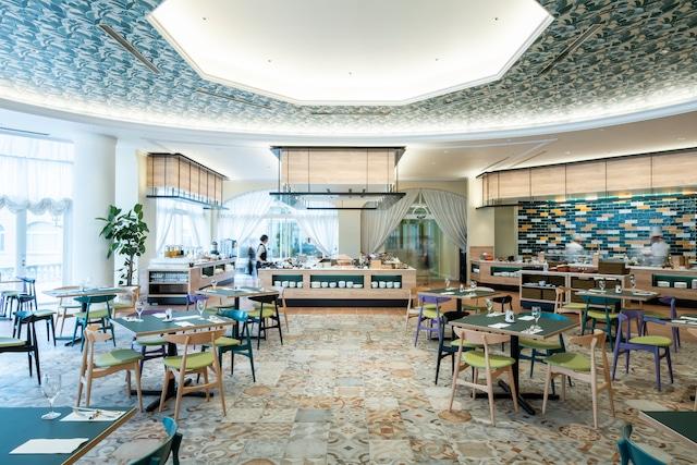 ホテル日航ハウステンボス カジュアルフレンチレストラン「ラヴァンドル」