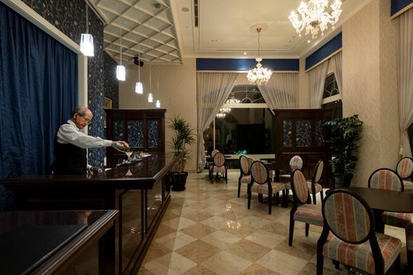 ホテル日航ハウステンボス ティー&バーラウンジ「ブルーム」