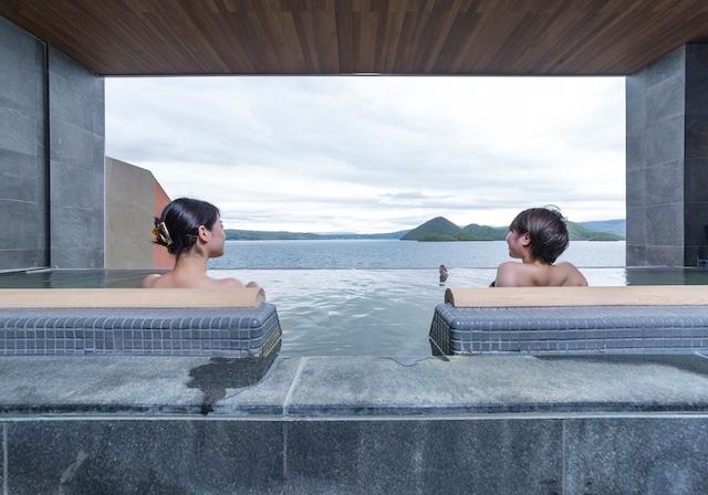 洞爺湖万世閣ホテル レイクサイドテラス 露天風呂