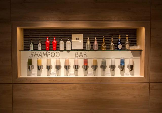 洞爺湖万世閣ホテル レイクサイドテラス シャンプーバー