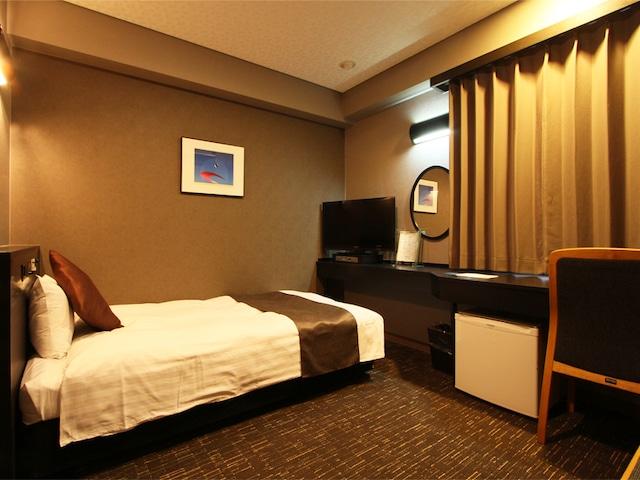 ホテルエリアワン千歳 シングルルーム ベッド幅110㎝