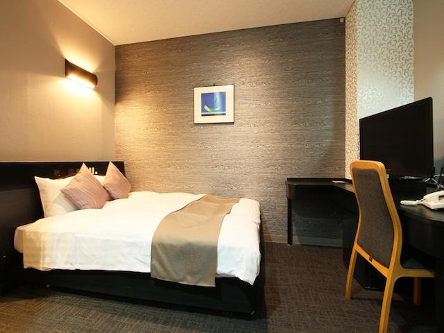 ホテルエリアワン千歳 ダブルルーム ベッド幅140㎝
