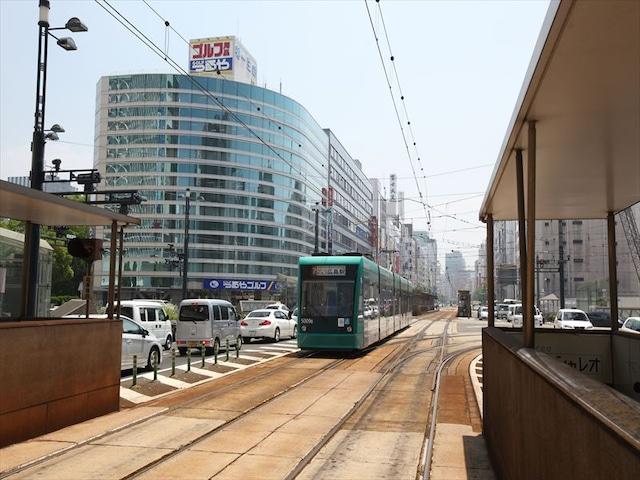 パークサイドホテル広島平和公園前 最寄り駅