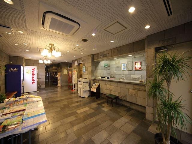 パークサイドホテル広島平和公園前 フロント