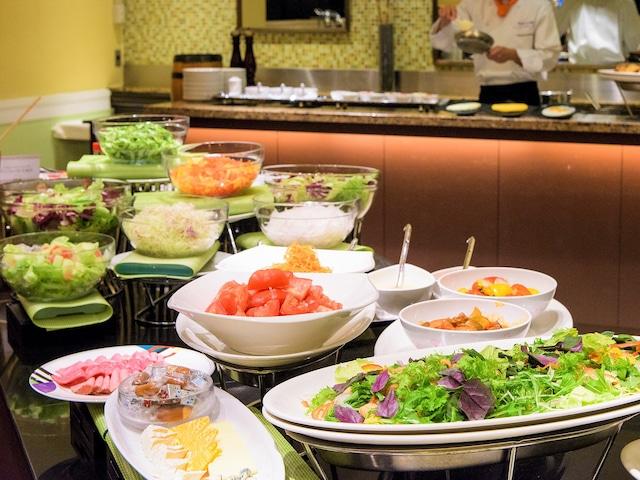 沖縄ハーバービューホテル 朝食一例