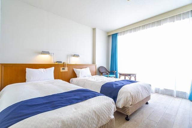 久米島イーフビーチホテル スタンダードツイン(一例)※山側