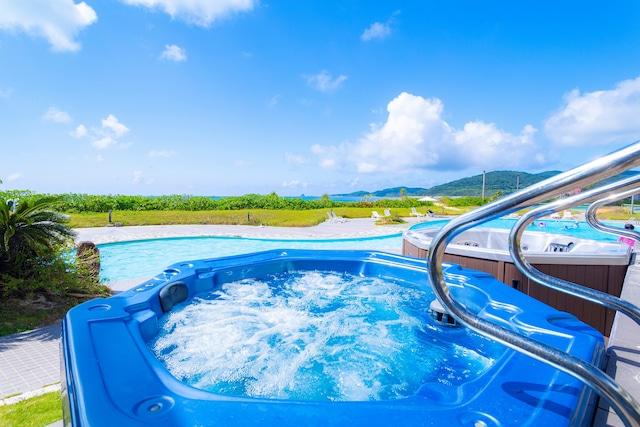 久米島イーフビーチホテル 屋外プール