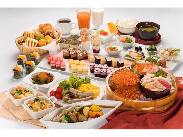 ベッセルイン札幌中島公園 人気の朝食