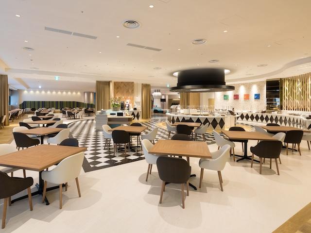 【新浦安】 コンフォートスイーツ東京ベイ 朝食会場