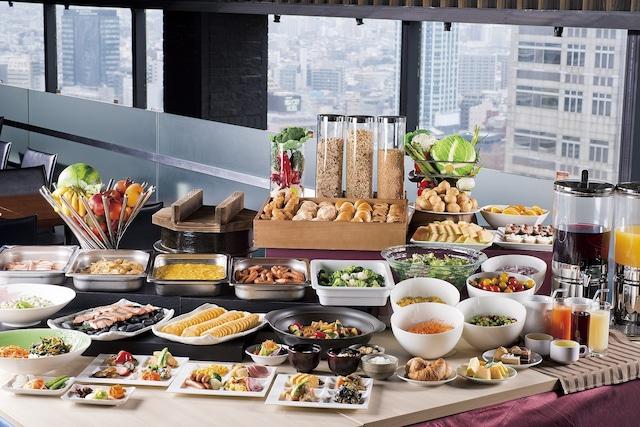 【新宿】新宿ワシントンホテル 本館 朝食イメージ