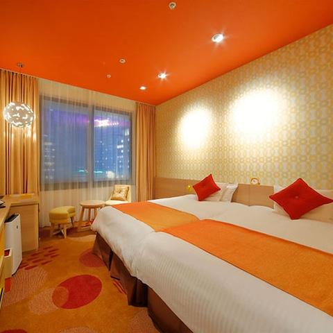 ホテルユニバーサルポートヴィータ スタンダートルーム28㎡(2-3名1室・一例)